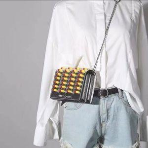 Dolls Kill Kitsch Rx Pill Pack Crossbody Bag